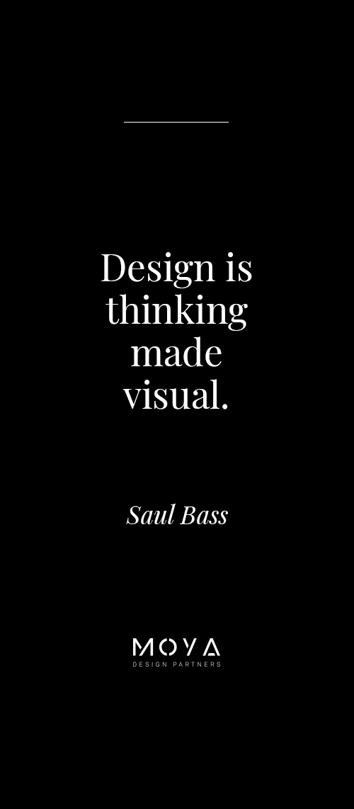 Design is thinking made visual