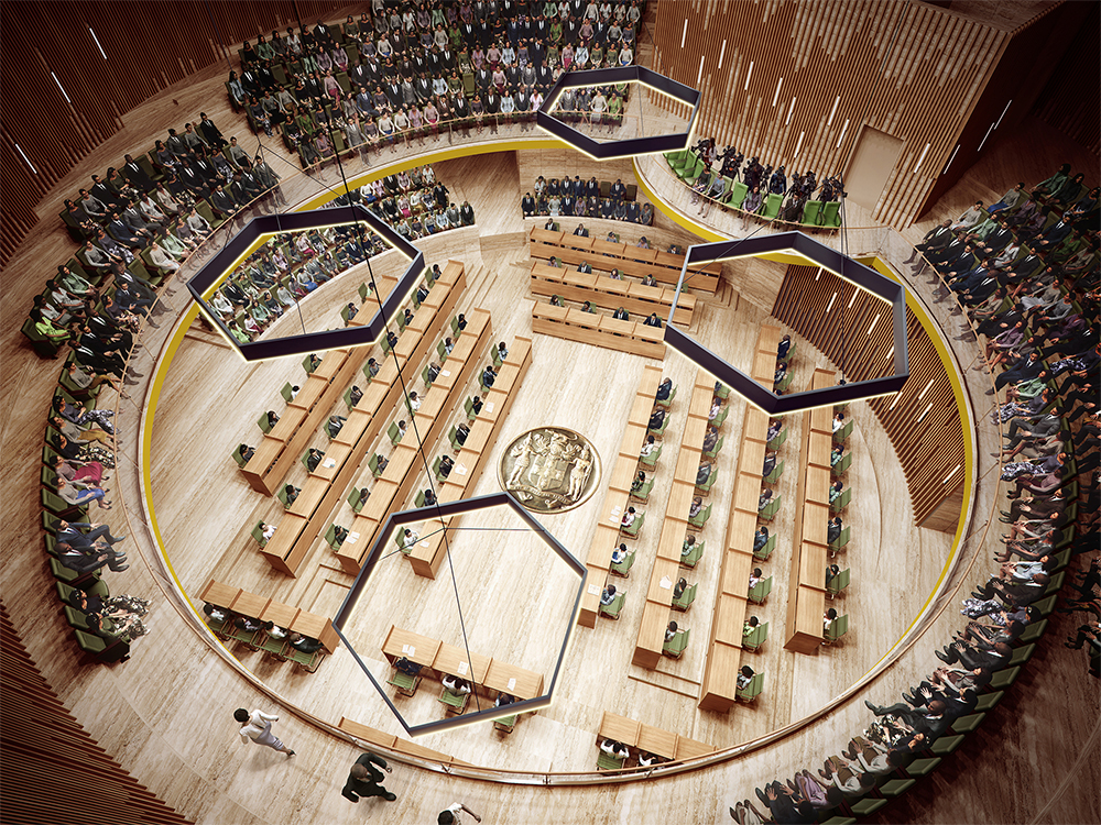 Jamaican Houses Of Parliament Design Competition Moya
