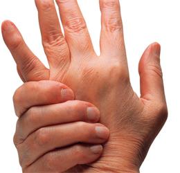 az ujjak hegyei zsibbadnak