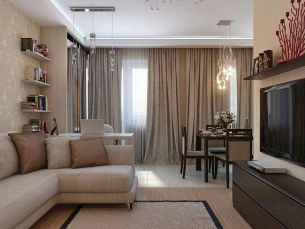 Как выбрать шторы в гостиную: стиль, цвет, площадь ...