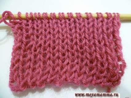 Modelli per sciarpe a maglia a maglia da maglia gomma da maglia