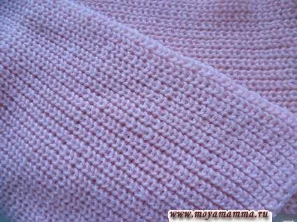 Motivi per sciarpe a maglia Aghi per maglieria per ragazze con naufragio perla