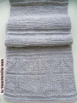 Modelli per sciarpe a maglia con motivo a maglia-pay per sciarpa a maglia