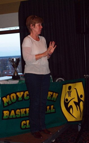 Club Chairperson Mary Gilson
