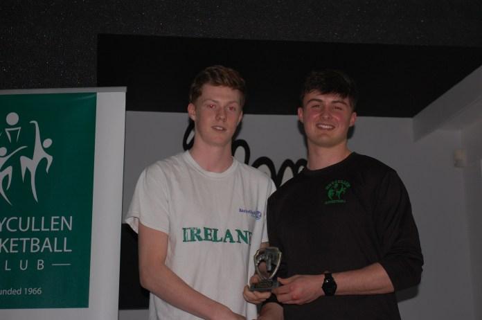 Irish U20 Men's Team Kyle Cunningham