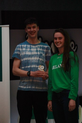 U16 Boys Player of the Year Mark Convery