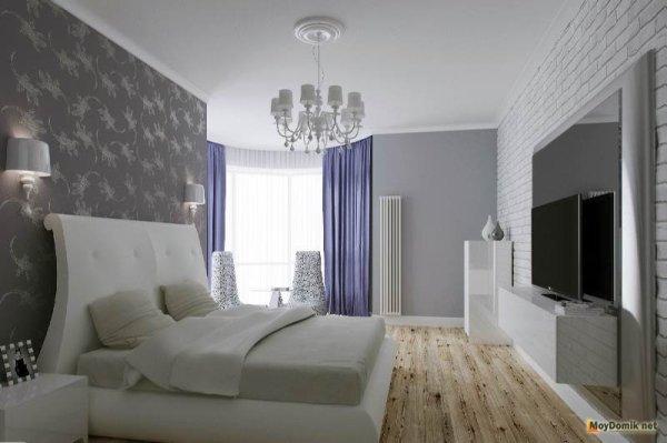 Идеи для интерьера спальни в современном стиле - фото ...