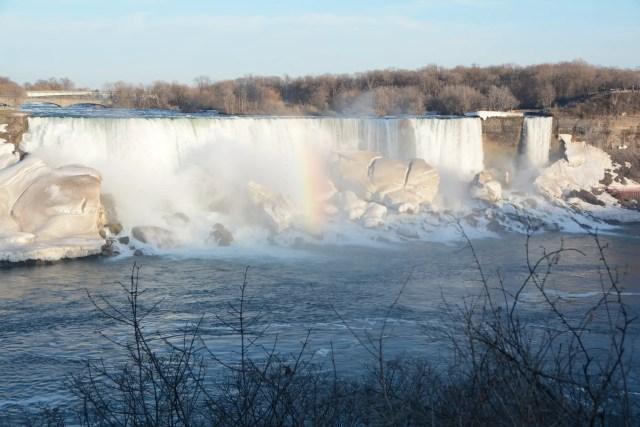 Niagara Falls in Wintertime, American Falls