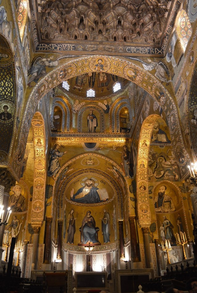 Palatine Chapel in Palermo viewable on a walking tour of Palermo