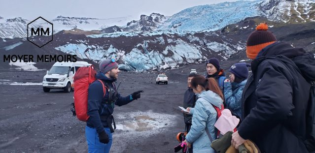 Arctic Adventures tour group for ice caves in Iceland