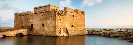 Пафос замок цитадель Пафос