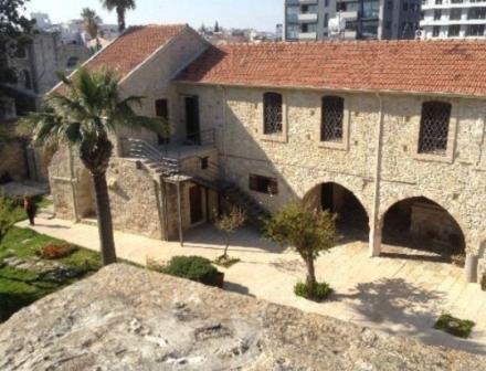 турецкая крепость в Ларнаке
