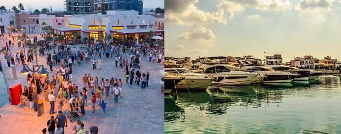 Самые интересные места в Лимассоле Limassol Marina