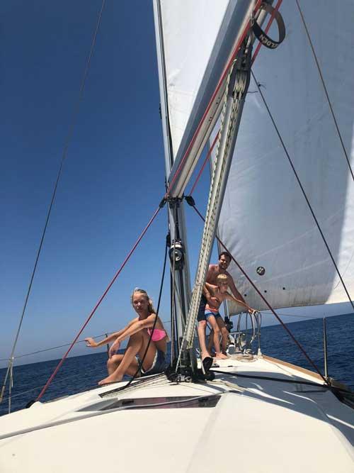 прогулки на яхте на Кипре