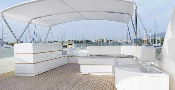 Аренда яхты в Айя-Напе Feretti 810