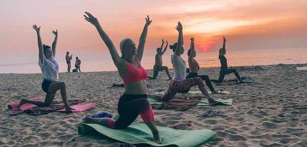 йога фитнес детский лагерь на Кипре