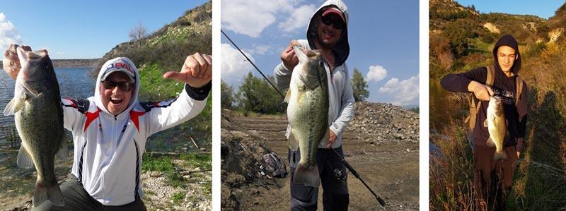 бассовая рыбалка развлечение на Кипре