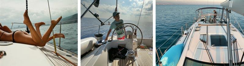 развлечения на Кипре обучение яхтингу