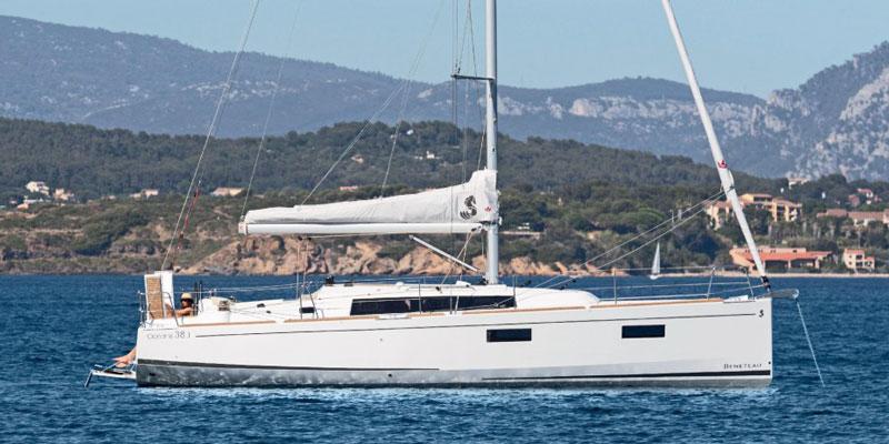 Яхты на Кипре oceanis 38.1 чартер