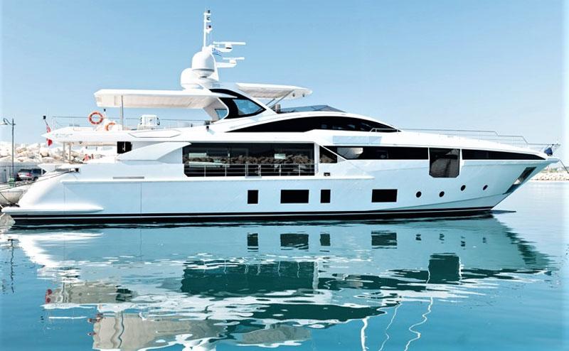 яхта azimut grande 35m купить