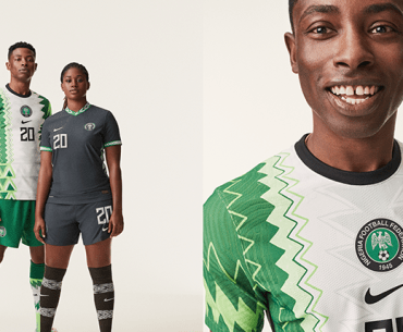 HOT OR NOT? Here's a look at the New Nigeria 'Super Eagles' Kit Ahead World Cup Qualifiers