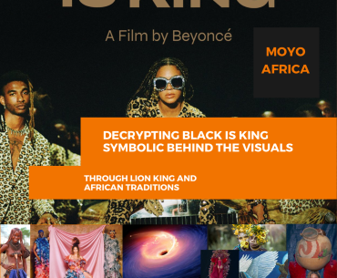 Decrypting Black is King and symbolic behind the visuals, through African tradition and Lion King