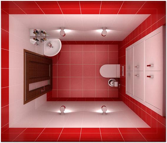дизайн туалета маленького размера 6