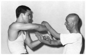 YIp Man con Bruce Lee