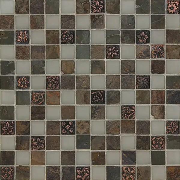 Mozaiek Kristal Leisteen