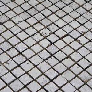 Mozaiek Zilver Steen