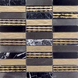 Mozaiek Luxor Goud Lei