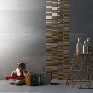 Mozaiek Multi Goud Grijs