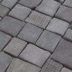 Mozaiek Kader Steen Zwart