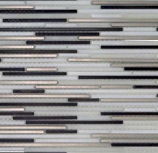 Mozaiek Metalen Stroken Mix