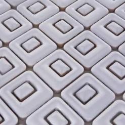 Mozaiek Quadro Wit