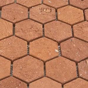 Mozaiek Zeshoek Bruin