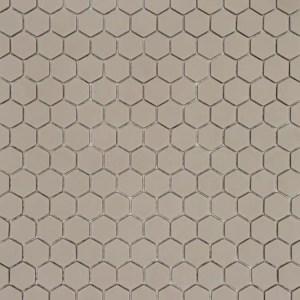 Mozaiek Zeshoek Juta Bruin