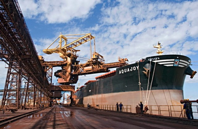 Ore Tanker at Port Hedland, Australia