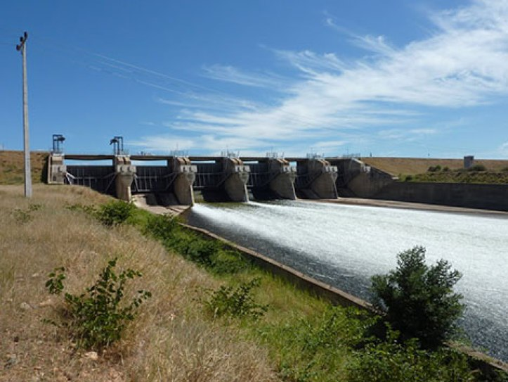 Mozambique Dam in November