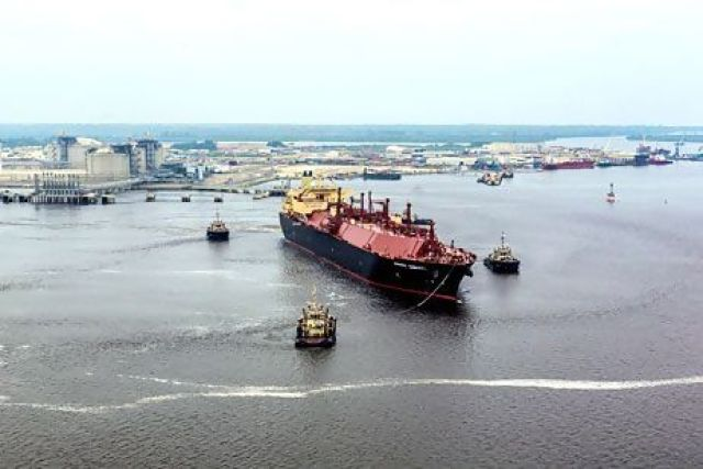 Angola LNG production