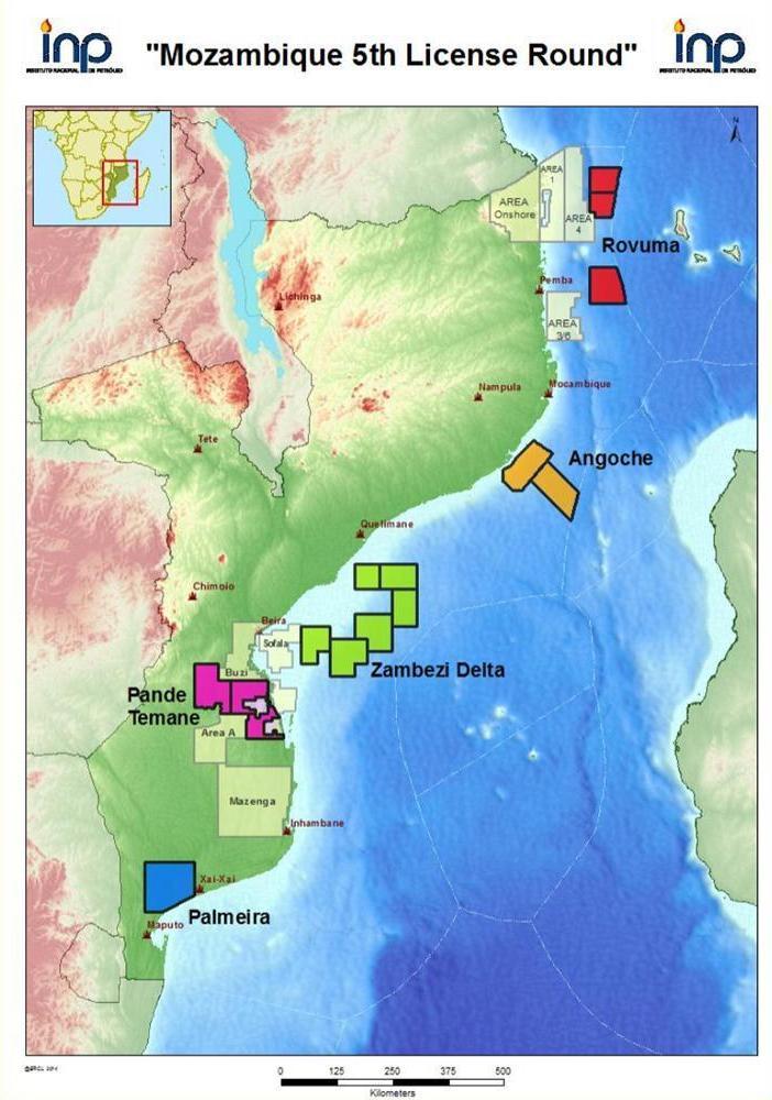 Mozambique 5th License Round