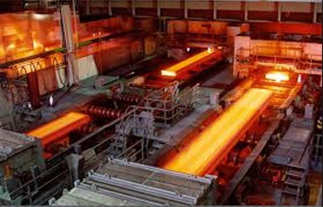 During steel production process