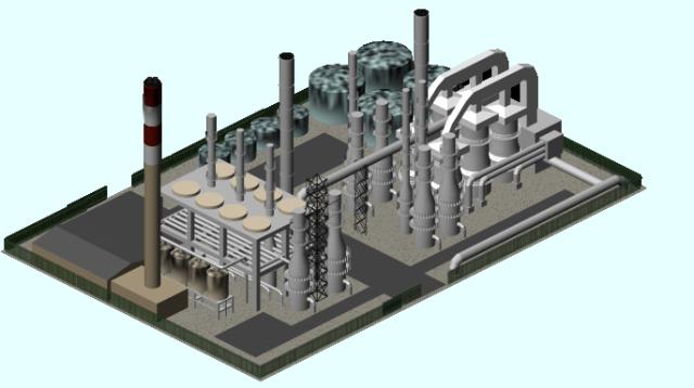 An Oil Refinary Sample