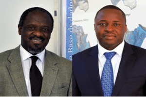 Arsenio Mabote and Nelson Ocuane, formers INP - National Petroleum Institute and ENH - National Hydrocarbons Company, respectively