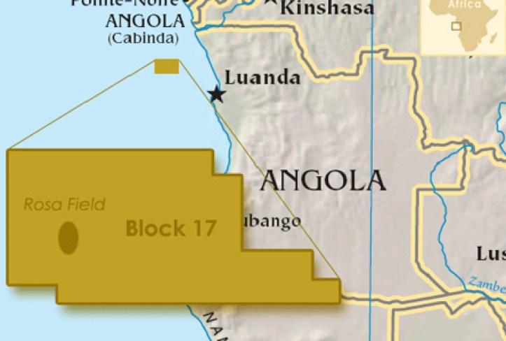 Rosa Field, Angola Block 17