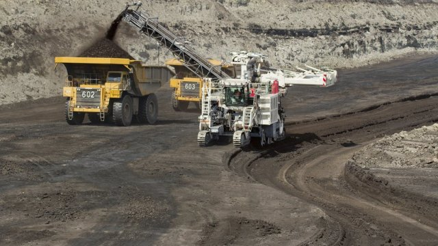 REDUCED CONTAMINATION Wirtgen surface miner machinery aims to to mine cleaner coal