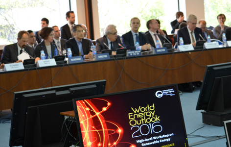 participants-at-the-world-energy-outlook-2016-high-level-workshop-on-renewable-energy-in-paris