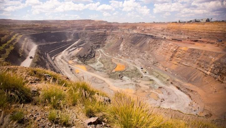 De Beers mine