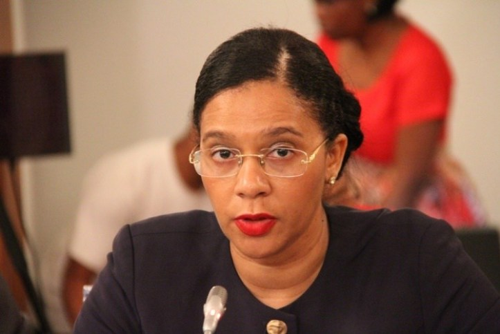 Minister of Mineral Resources Leticia Klemens