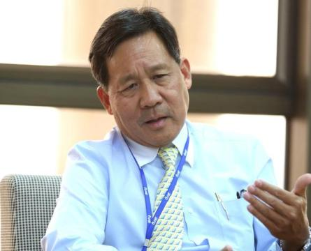 Piyasvasti Amranand, chairman of the PTT board, is preparing fora lot more LNG imports. © Photo courtesy of PTT